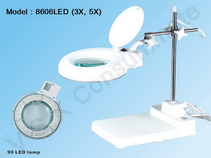 MAGNIFYING LAMP 8606H-LED